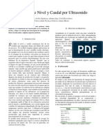 Paper Nivel Por Ultrasonido