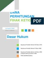 MKP - Dana Perhitungan Pihak Ketiga