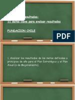 11 Pasos Para Analisis de Resultados Fundacion Chile