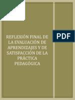 Reflexión Final de Evaluación