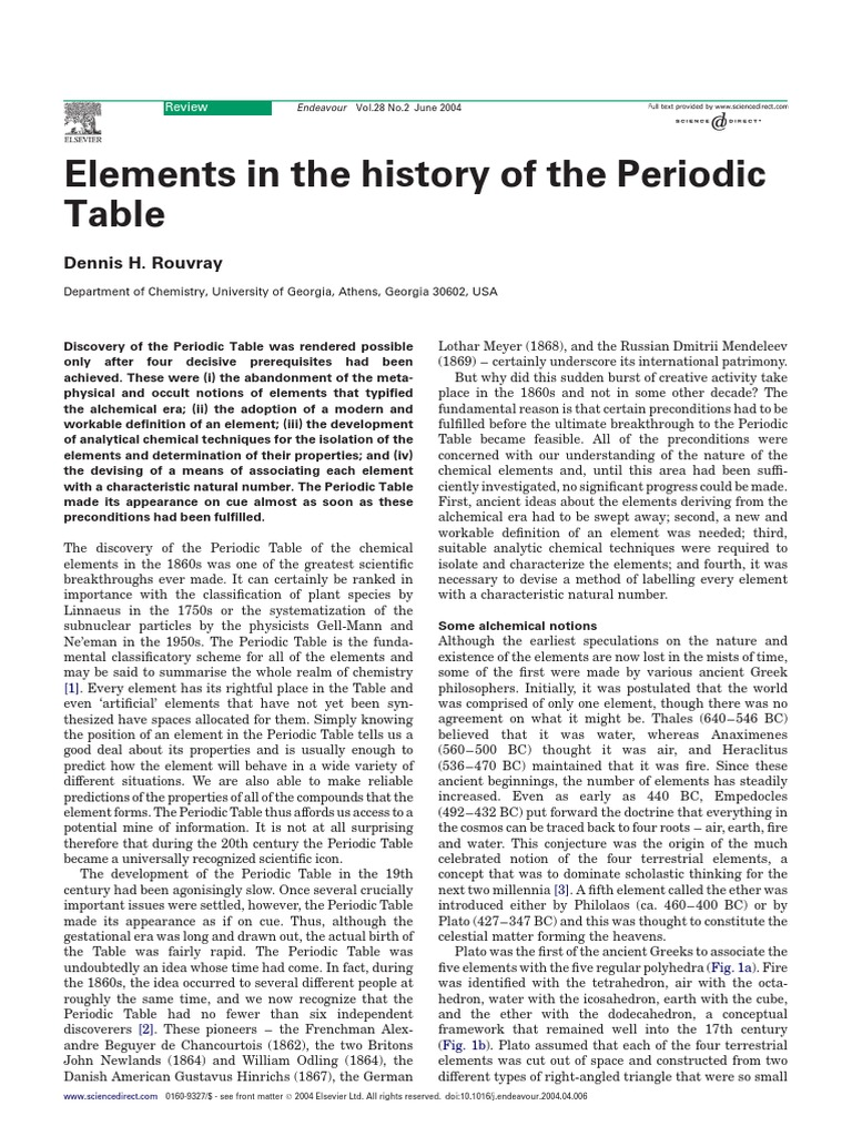 Elements in the history of the periodic table periodic table elements in the history of the periodic table periodic table chemical elements urtaz Choice Image