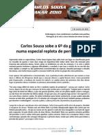 Press Carlos Sousa 10.01.04