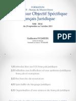 Français Juridique
