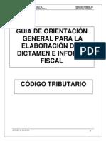 Guia de Orientación Dictamen e Informe Fiscal