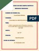 SEGUNDO PARCIAL COMPARACIÓN DEL PND 2007-2012 Y 2013-2018 LIZZET ZÁRATE MÉNDEZ