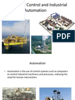 Hierarchical Control and Industrial Automation