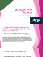 Diez Secretos Para Triunfar