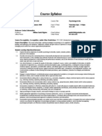 UT Dallas Syllabus for psy4332.5u1.08u taught by William Rigdon (wdr062000)