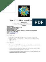 UT Dallas Syllabus for rhet1101.084.08u taught by Teresa Lynd (tclynd)