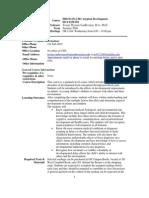 UT Dallas Syllabus for hdcd5312.5u1.08u taught by Jacoba Vanbeveren (jtv013100)