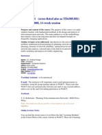 UT Dallas Syllabus for te6385.0i1.08u taught by Andras Farago (farago)