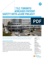 North York General Hospital Case Study on wireless eCare project