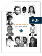 Ashoka African Annual Report 2009
