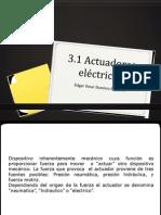 3.1actuadores electricos