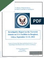 Benghazi Report House Panel November 2014