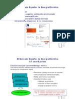 El Mercado Español de Energia Electrica