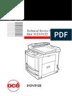 OCE 3121 3122 Service Manual