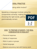oral practice p p