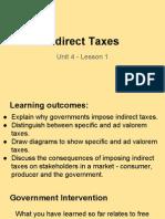 unit 4 - lesson 1 taxes