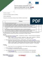 RoSEFF BCR Formular Pentru Identificarea Potentialilor Clienti