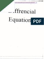 Deferential  Equations