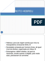 DIREITO HEBREU
