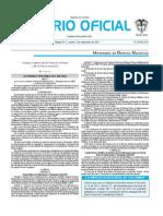 Diario Oficial Acuerdo 052-2013