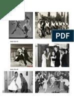Bailes Años 40, 50 . 60 . 70 . 80 . 90 Griega Romana Egipcia