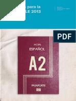 Materiales Para La Clase de ELE 2013 Nivel A2