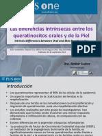 Las Diferencias Intrínsecas Entre Los Queratinocitos de Mucosa Oral y Cutáneos