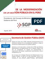 PPT Sistem Modernización Gestión Pública PNP