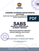 Dbc Refaccion Del Comando Departamental de Potosi