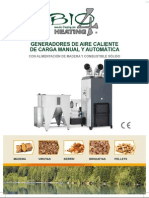 Estufas Bio4heatinig biomasa leña Hersan
