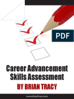 Career Advancement Skills Assessment, by Brian Tracy