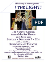 Ellenville Public Library & Museum presents  INTO THE LIGHT