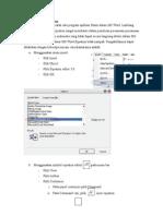 Fasilitas Equation Editor