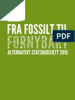 MDG Alternativt Statsbudsjett 2015