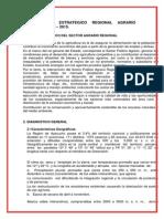 Trabajo Plan Estrategico AGRICULTURA