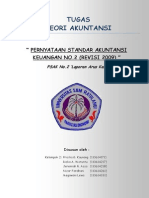 Teori Akuntansi - PSAK 2 (Makalah)