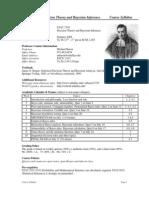 UT Dallas Syllabus for stat7330.0u1.08u taught by Michael Baron (mbaron)