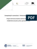 Competente in Comunicare