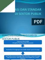Regulasi Dan Standar Di Sektor Publik Pertemuan II