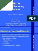 3 Mechanical Properties of Metals
