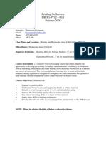 UT Dallas Syllabus for drdg0v92.0u1.08u taught by Thomasina Hickmann (hickmann)