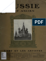 RÈAU, L. Russie, Art Ancien (1917)