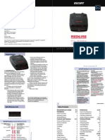 Escort Redline Manual