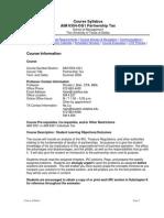 UT Dallas Syllabus for aim6354.0g1.08u taught by Ronald Blair (rblair)