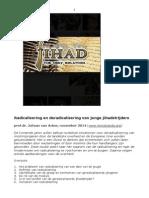 Radicalisering en deradicalisering van jihadisten