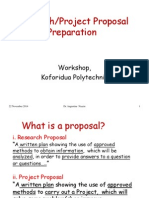 Proposal Writing Kdua Poly