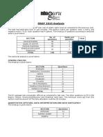 SNAP 2010 Analysis Key Guru